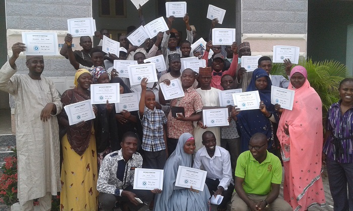"""Vitamin Angels trained 78 RHEMN volunteers in Gombe on """"Technical Competency"""""""