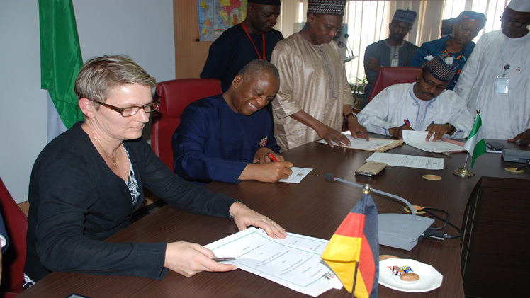 German Government Signs €29.9 Million Euros Agreement with Nigeria in Support of Polio Eradication in the Country