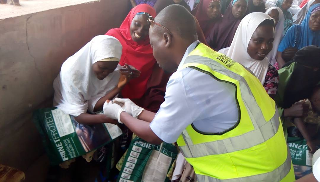 RHEMN Commemorates world malaria day 2018- Distributes nets, drugs and free screening
