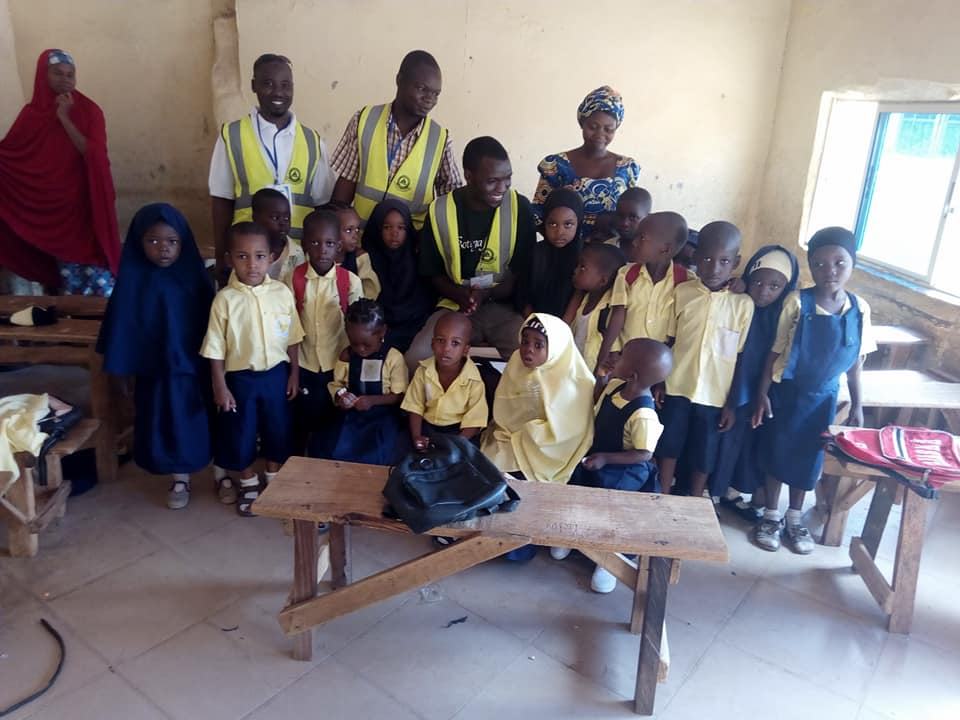 RHEMN Celebrates world children day 2018 with pupils, provide free deworming