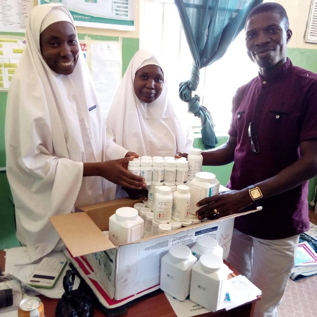 Update on the distribution of lifesaving birth kits