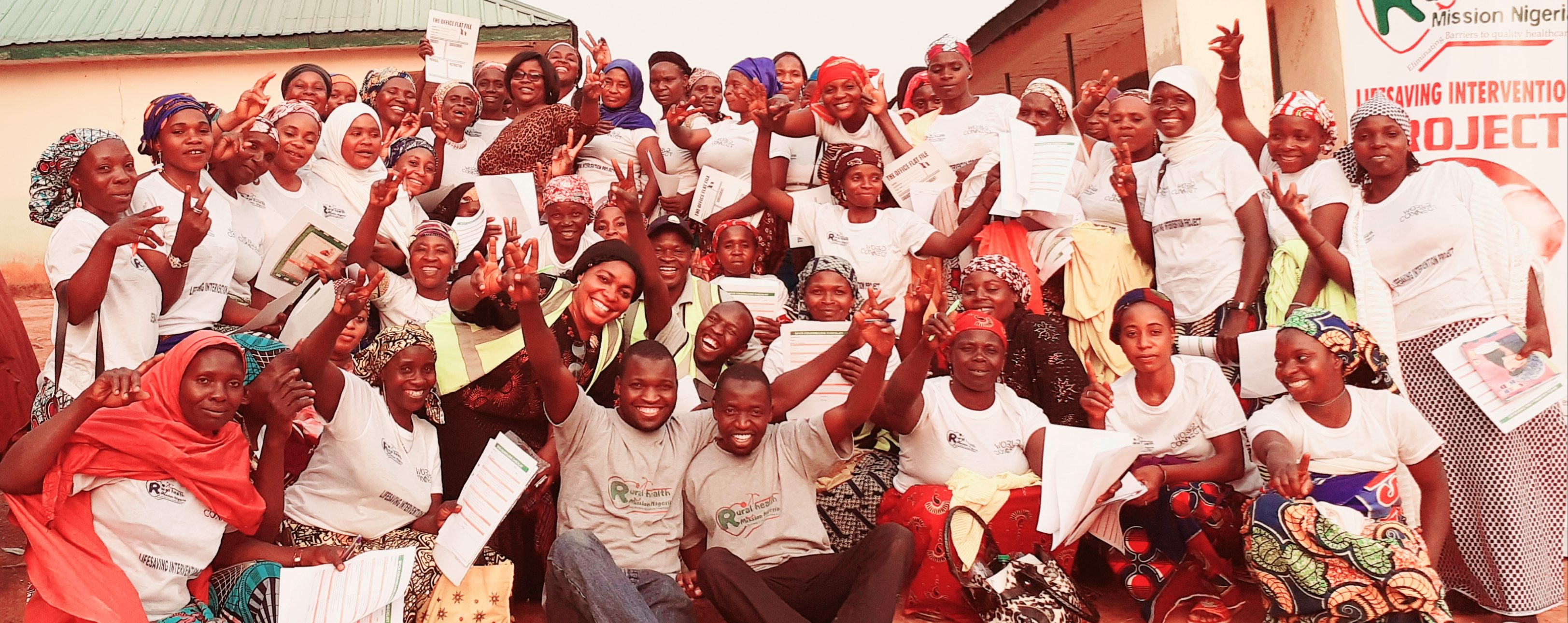RHEMN Trained Home Health Volunteers to to reduce maternal mortality